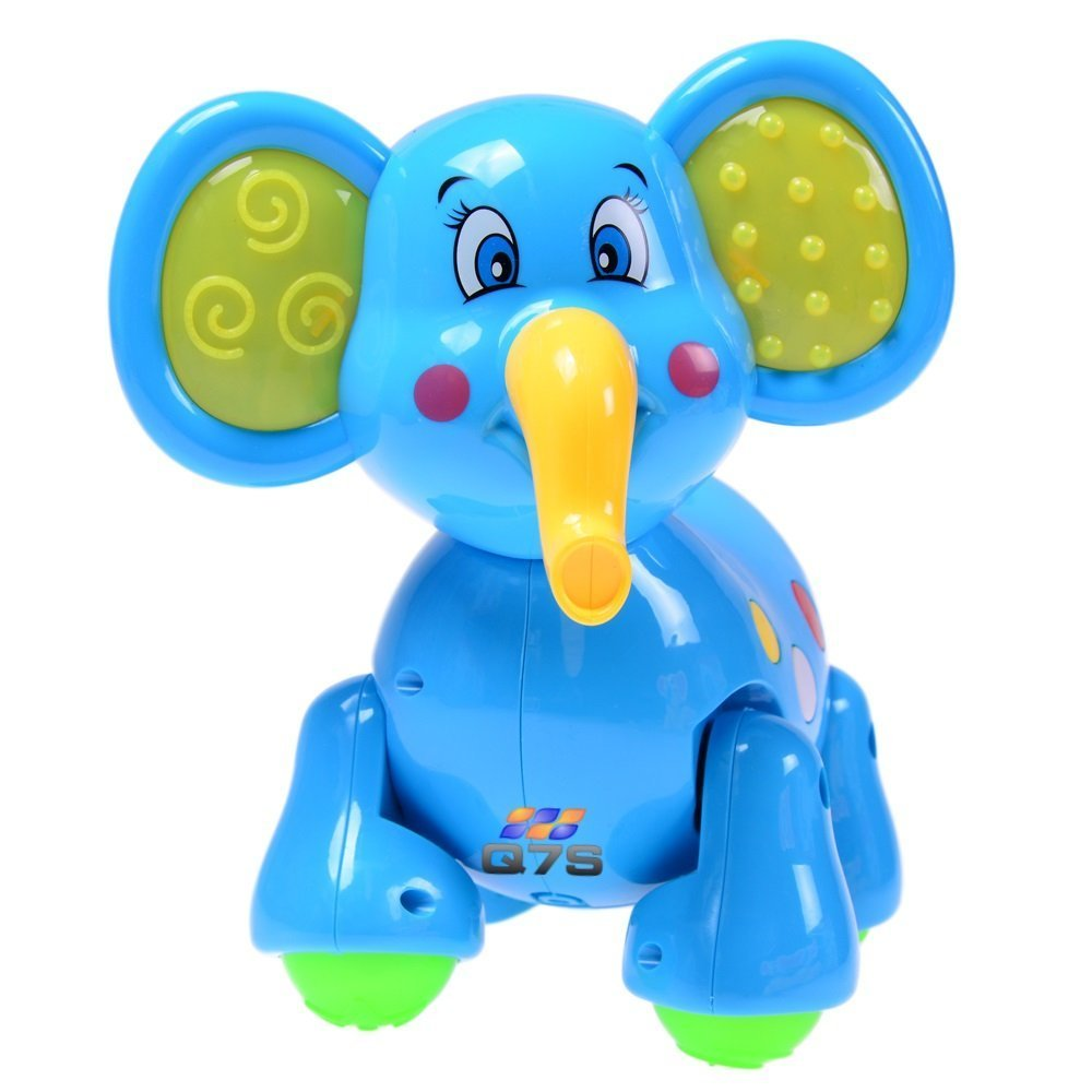Toys For Elephant : Walking elephant toy q s